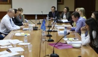 Александр Молотников выступил на круглом столе в МГУ