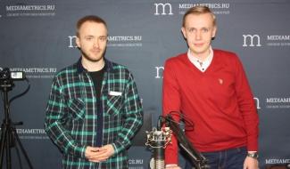 Выступление на радио «Медиаметрикс»